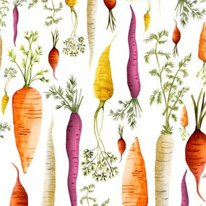Carrots Large Scale by Angel Gerardo