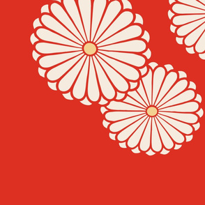 Double Japanese Floral