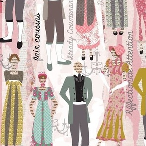 Pride and Prejudice Fabric