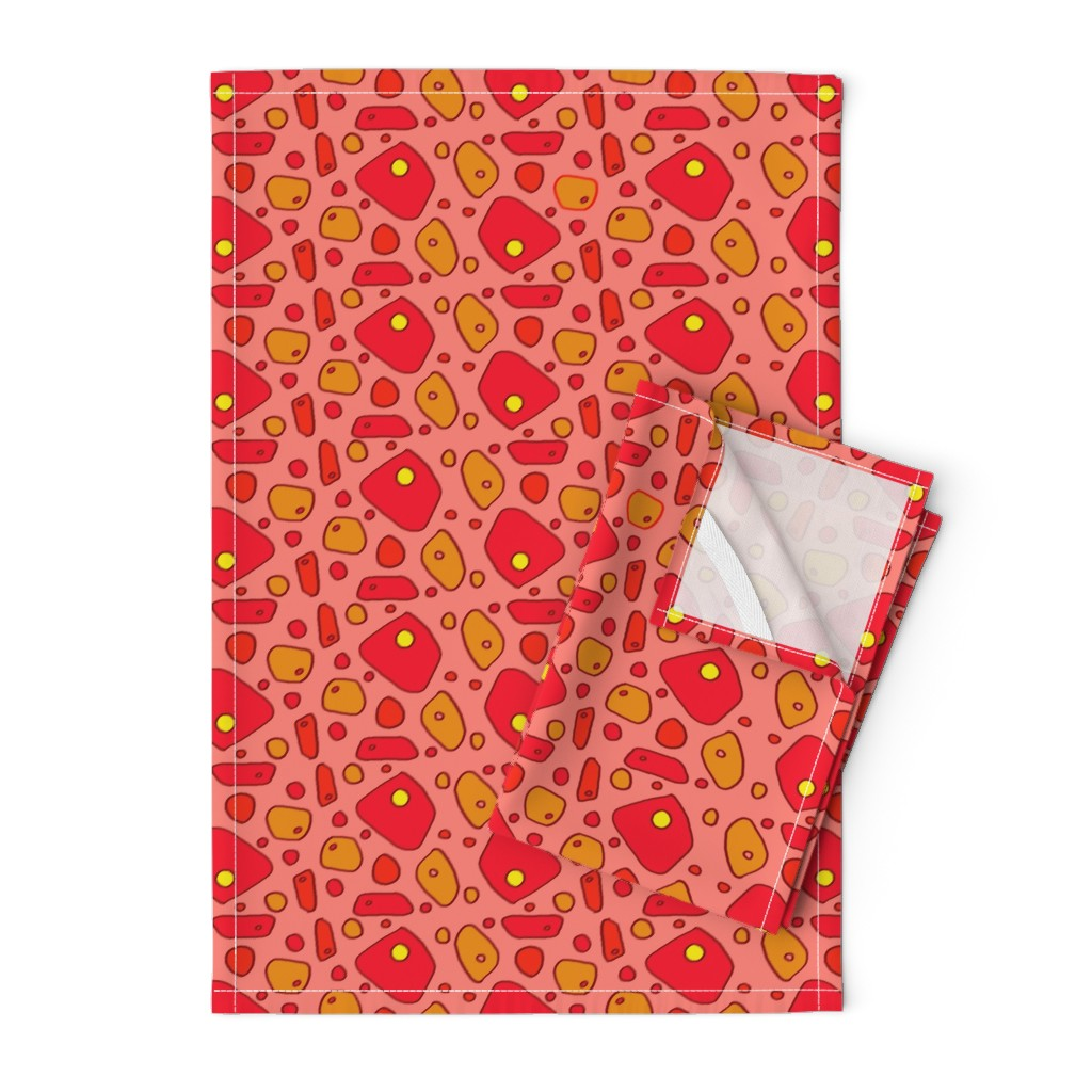 Orpington Tea Towels featuring pimento cheese by lissame73