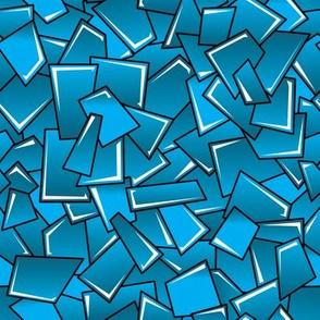 Street Squares (Blue)