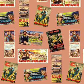 Ford Westerns with Duke Wayne