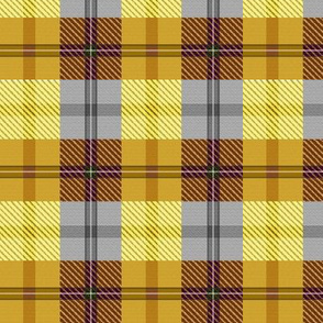 gingham plaid butterscotch and rootbeer