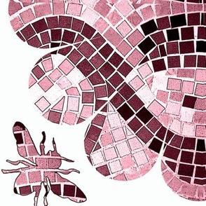 Flower Power Bee Mosaic