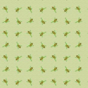 celtic frog tile 2