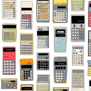 Cal Q. Lator (Maxi) || math science geek chic nerd menswear computer digital