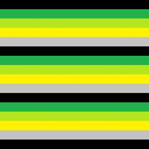 Aro Pride Stripes (with yellow)