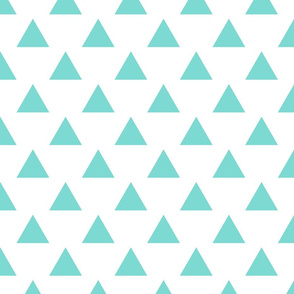 triangles blue