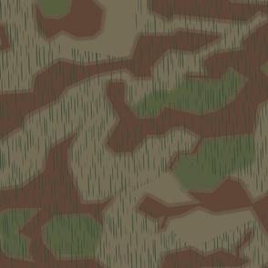 Marsh 44 Camo, Hard Edge with Fluffy Overprint