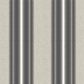 Frequency Stripe Charcoal