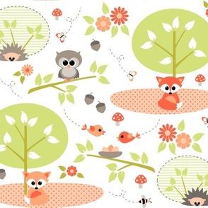 Woodland babies