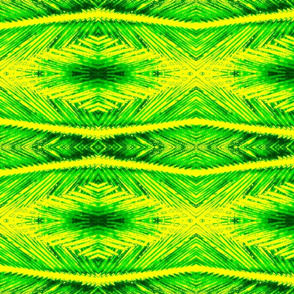 Palm Frond Abstract