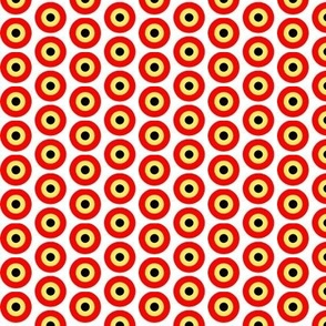 Yellow red targets small