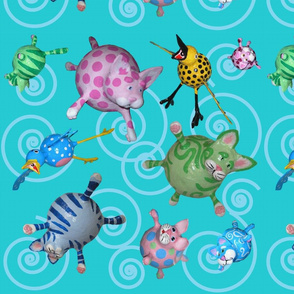 bubble_cat_fabric