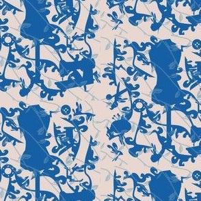 Progressive Blue Sewing Toile