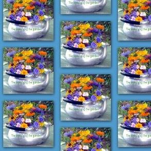 Teapot of Flowers