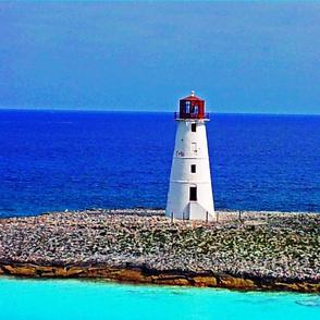 Lighthouse Quilt Center or Pillow
