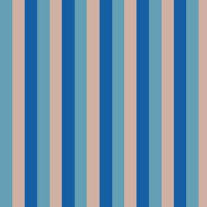 Progressive Blue Striped Coordinate for Sewing Toile