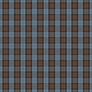 "Graham of Menteith tartan, 1"" weathered reversed colors"