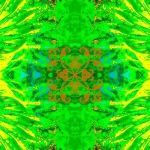 Abstract7-green/yellow