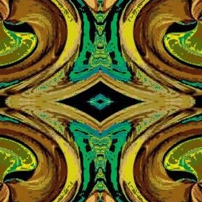 Abstract5-teal/brown