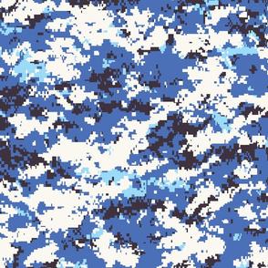 CADPAT Digital Blue Camo