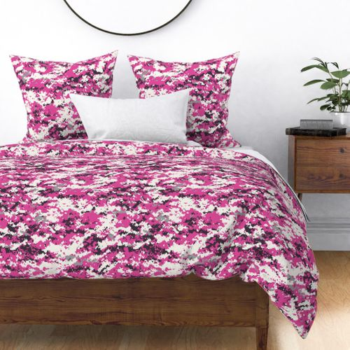 Fabric by the Yard CADPAT Hot Pink Camo