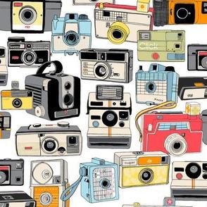Make it Snappy! || vintage camera illustrations analog photography film photo photographer
