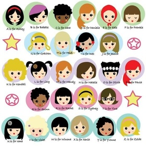 Alphabet Girls