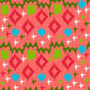 Ikat Watermelon