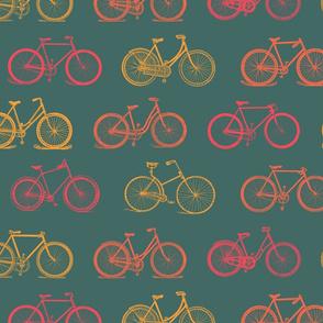 Retro Antique Bicycles (large version)