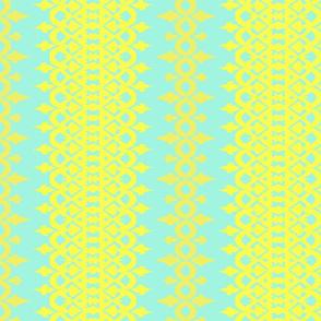 ISLA - aqua, lemon + goldenrod