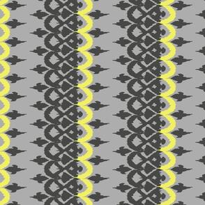 OROZCO - grey and icy lemon