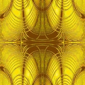 Abstract4-brown/yellow/green