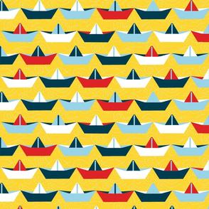 sailing_paper_boat_jaune_XL