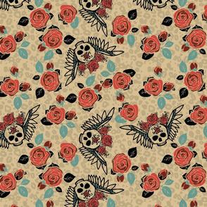 Skully Floral