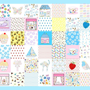 42 Quilt Squares
