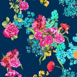 bouquet navy large