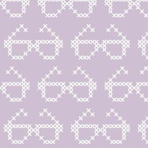 Cross stitch glasses