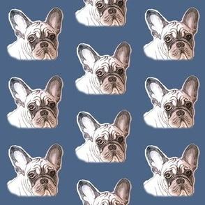 french bulldog blues