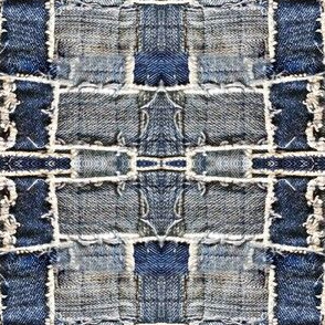 jeans patches blue