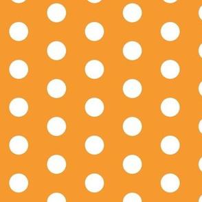 White Dots on Orange