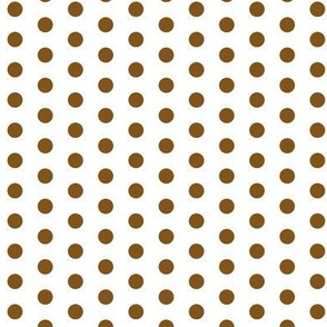 Small Brown Dots on White
