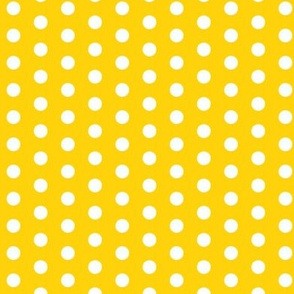 Small White Dots on Yellow