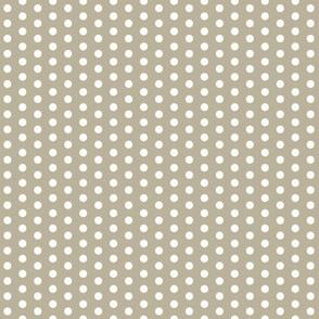Tiny White Dots on Grey