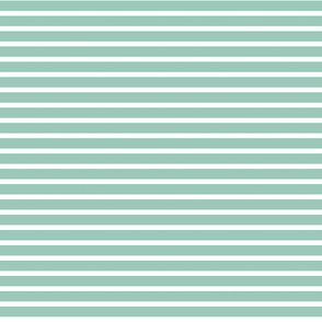 Small Teal Stripes