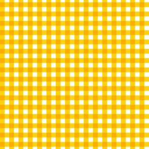Small Yellow Gingham