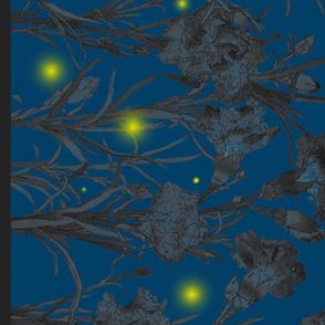 Firefly Botanical Border Print