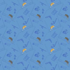 Agility Chihuahuas - blue