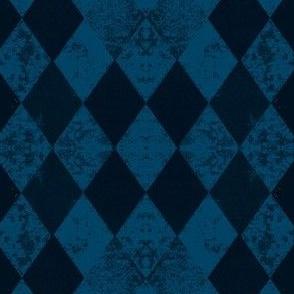 Blue Harlequin Dark Blue Black Diamond